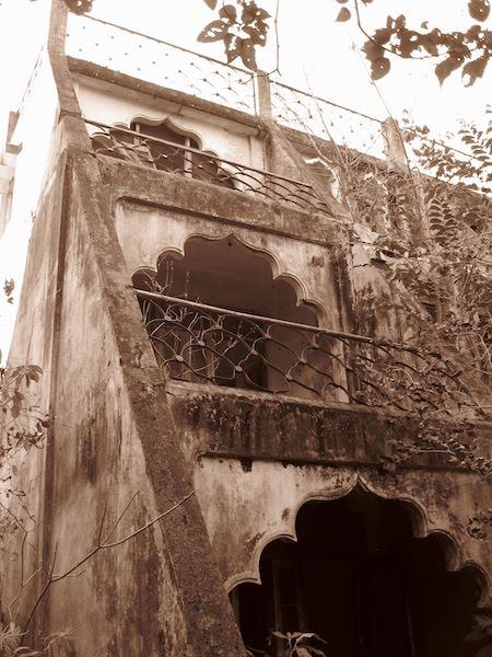abandoned building beatles ashram
