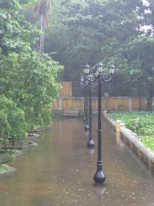 rain in hoi an vietnam