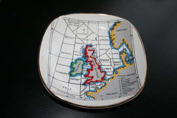 shipping forecast plate kitsch