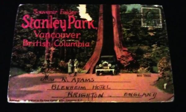 Stanley Park Vancouver vintage souvenir set