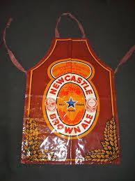 Newcastle Brown retro 1970s apron