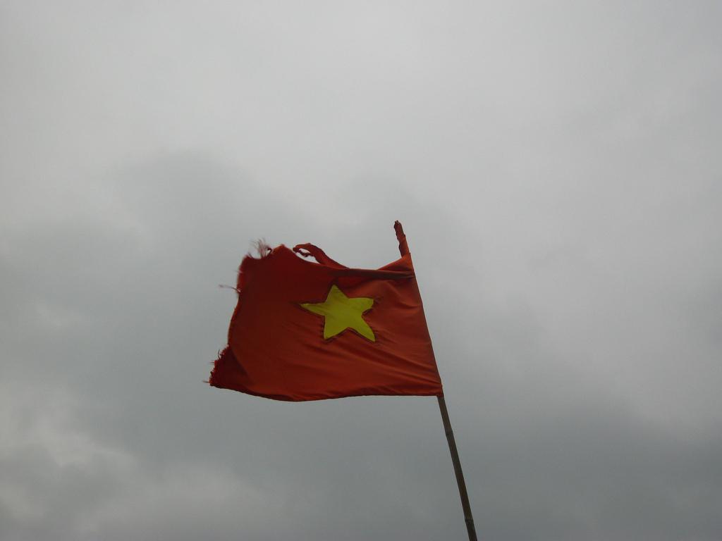 vietnam flag hanoi