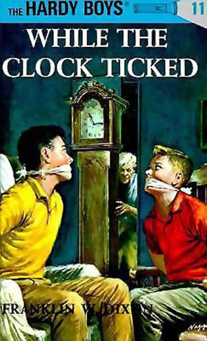 While the Clock ticked hardy boys