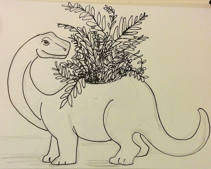 dinosaur-planter-illustration