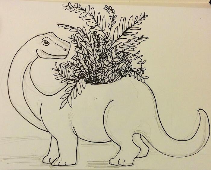 dinosaur-planter-illustration