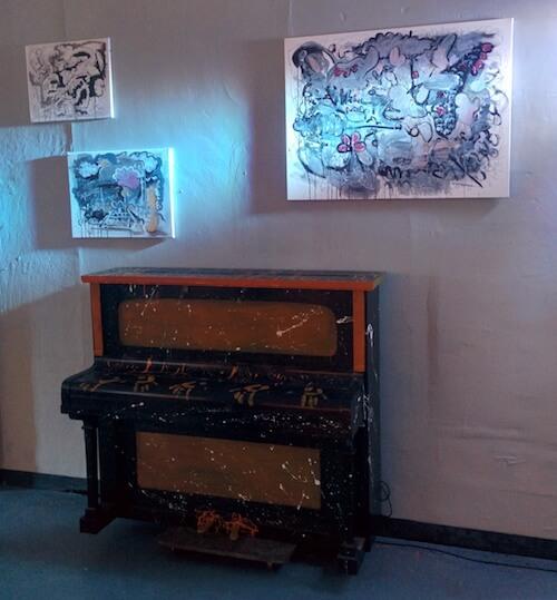 adam crosland bohemian balcony art exhibition