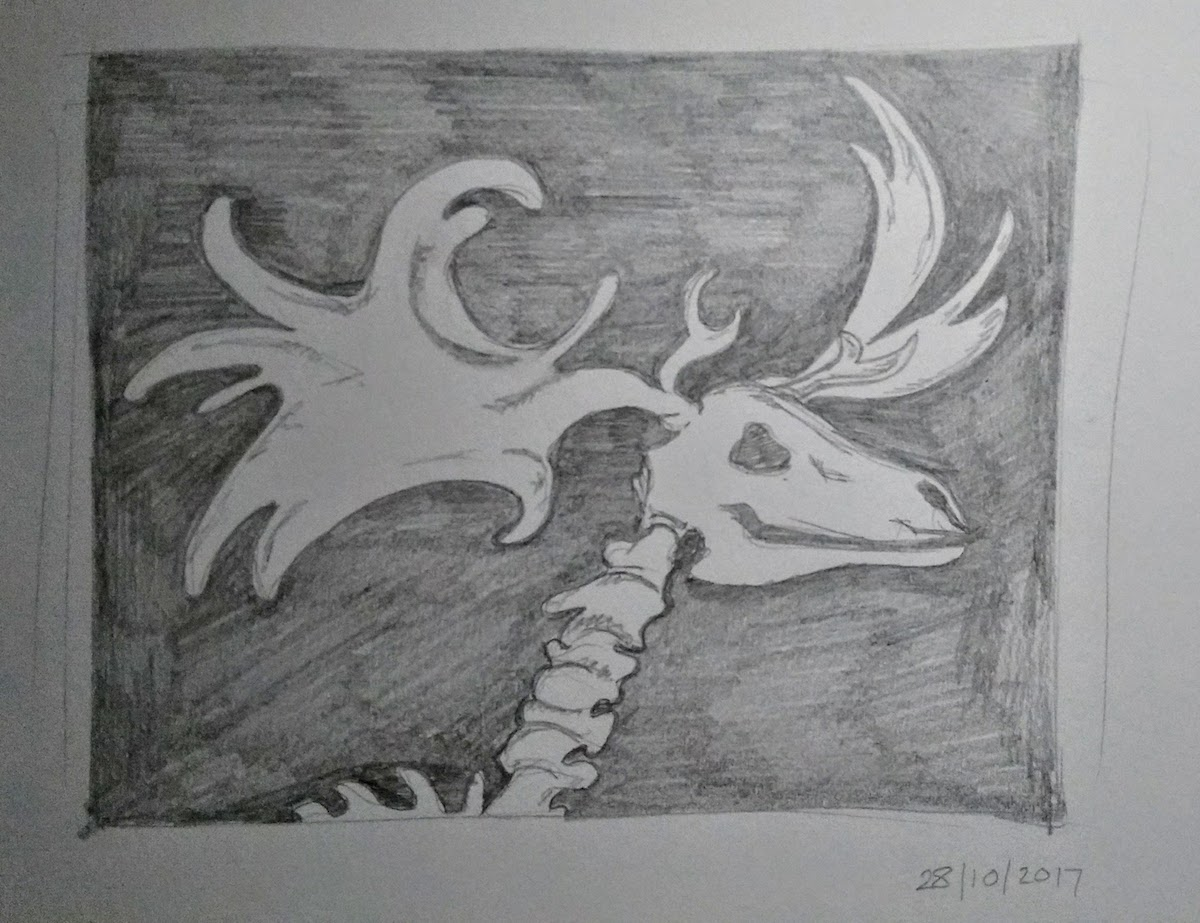 moose skeleton laura morgans