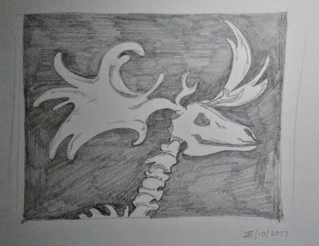 moose skeleton