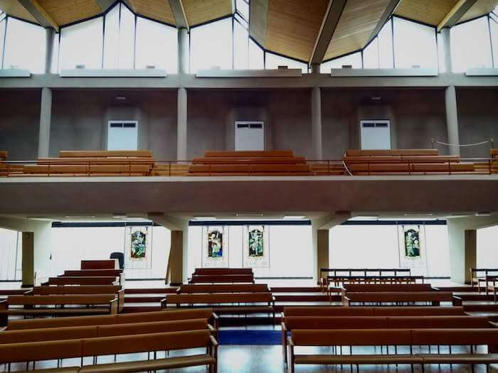 broadmead baptist church interior