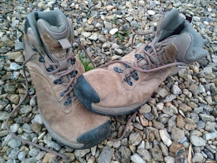 farewell to walking boots