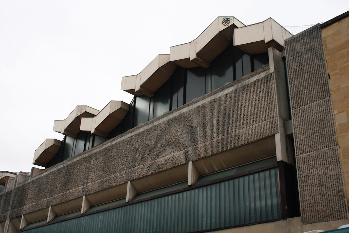 broadmead baptist church brutalist exterior